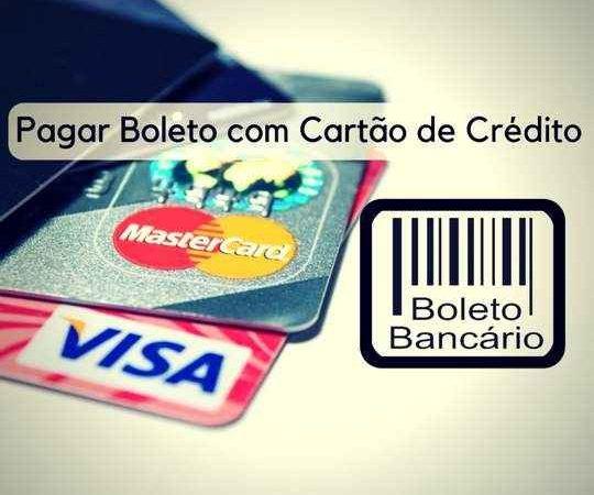 Pagar Boletos com Cartão de Crédito