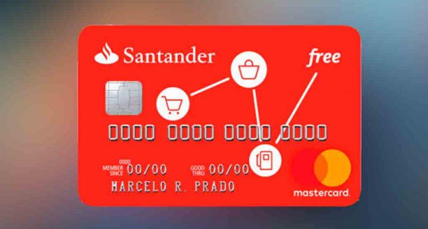 Cartão de Crédito Santander Free – Sem Anuidade